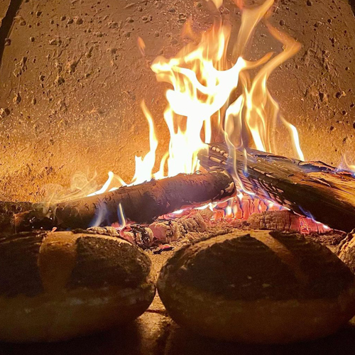Fresh Baked Bread from our bakers and wood burning ovens